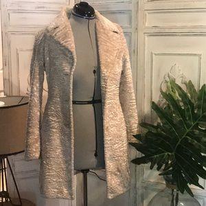 Vintage bone color coat